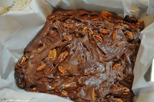 Easy Microwave Fudge - Laugh With Us Blog