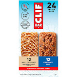 Clif Bar Energy Bars, Variety Pack, 2.40 oz, 24-count