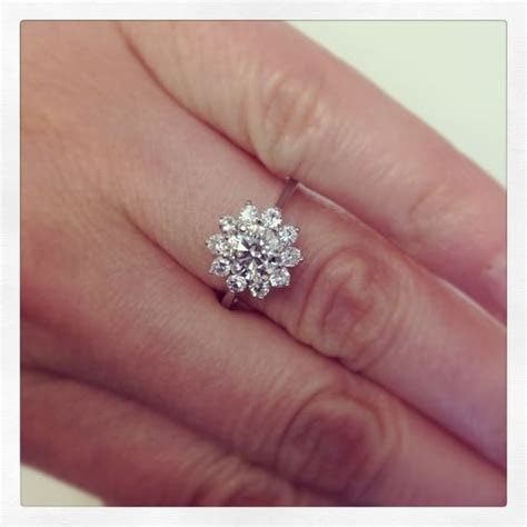 Halo engagement rings, Halo engagement and Halo on Pinterest