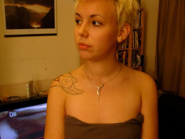 A.N Other tattoo: 5 - shoulder tattoo