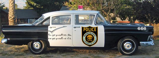 Random City Cop Car