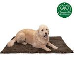 FurHaven Pet Dog Mat   Muddy Paws Towel & Shammy Rug (Mud, Extra Large)