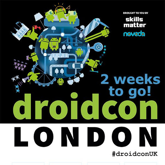 "droidconUK on Twitter: ""Lots of sponsor & exhibition news to announce today! Keep your eyes peeled for more #DroidconUK15 planned highlights! """