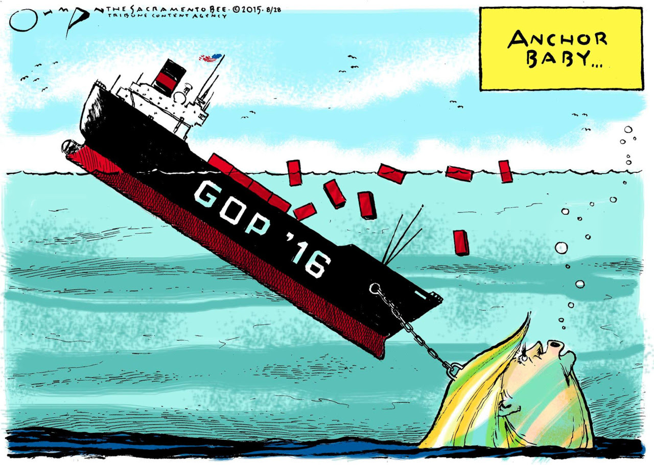 Image result for trump sinking America
