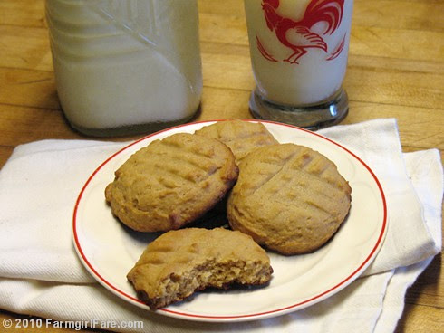 Honey Peanut Butter Cookies
