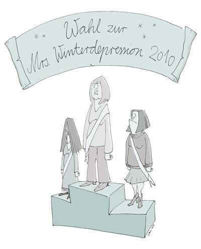 Der große LACHHAFT Adventskalender Denis Metz Wahl zur Miss Winterdepression 2010
