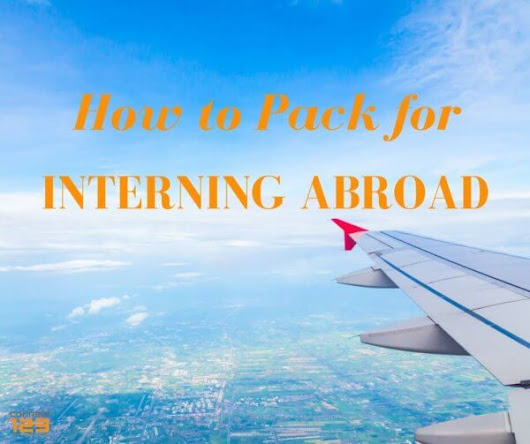 How to Pack for Interning Abroad | Connect-123