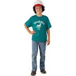 Halloween Kids' Stranger Things Dustin Waupaca Halloween Costume T-Shirt XL, Men's, MultiColored