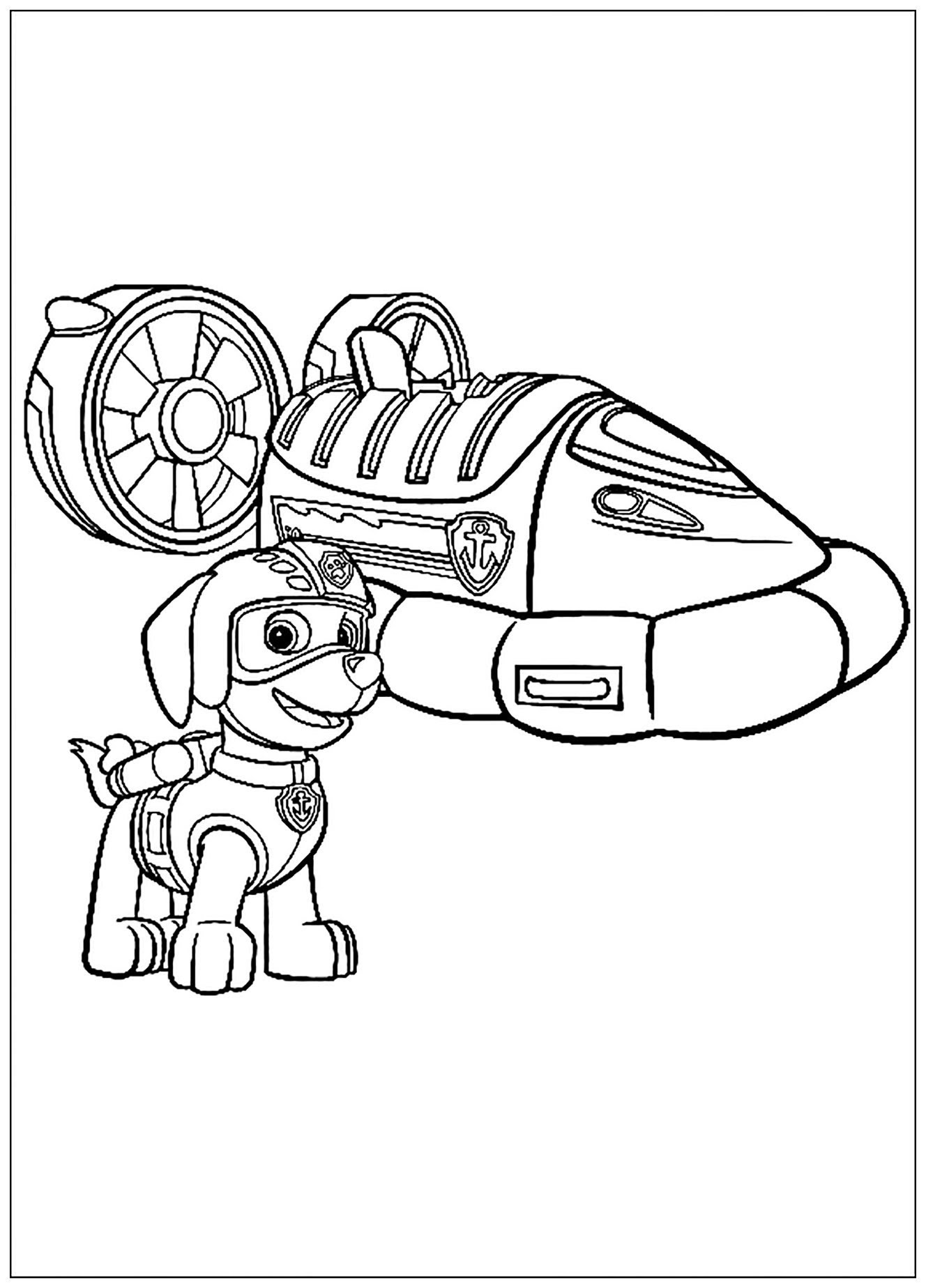 Gallery Of Pat Patrouille Coloriage