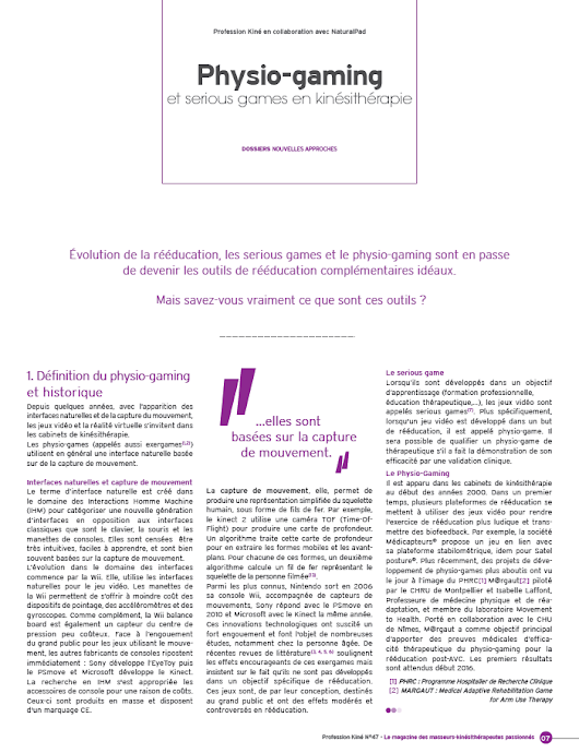 Best-Of revue de presse 2015 - NaturalPad