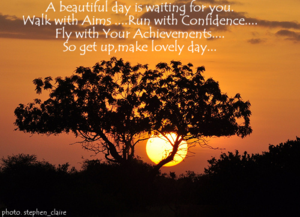 A Beautiful Day Is Waiting For You Confidence Quote