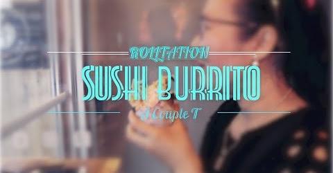 Cuộc sống Toronto - Lần đầu thử món Sushi Burrito - Sushi khổng lồ