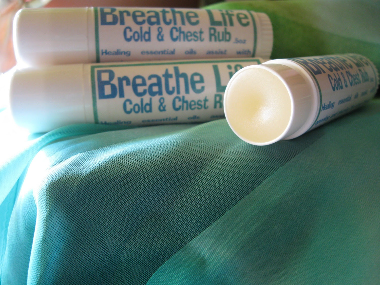 CHEST Rub and SINUS Relief... Breathe LIFE...Aromatic Vapors to open Breathing Passages
