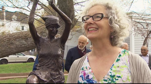 Statue honouring Nova Scotia woman, who hid Allied airman from Nazis, unveiled