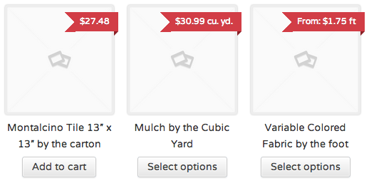 Measurement Price Calculator - WooThemes