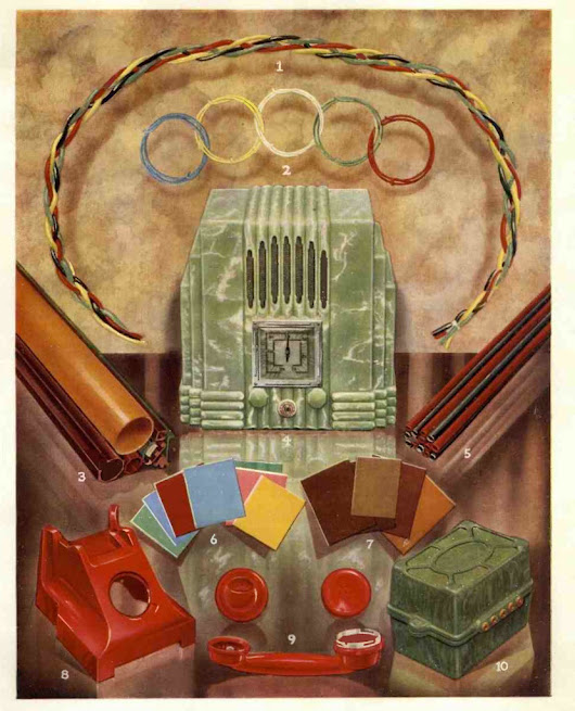 PLASTICS USED IN RADIO MANUFACTURE 1929 ONWARDS