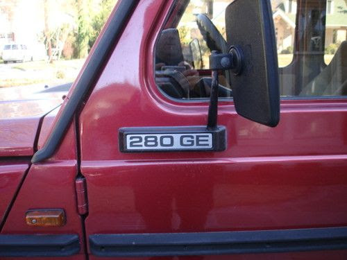 Sell used 1980 Mercedes- Benz Gelandawagen in Columbia ...