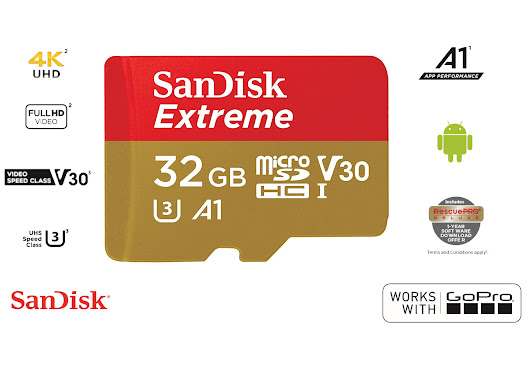 SanDisk Extreme Micro SD is now 100MB/s