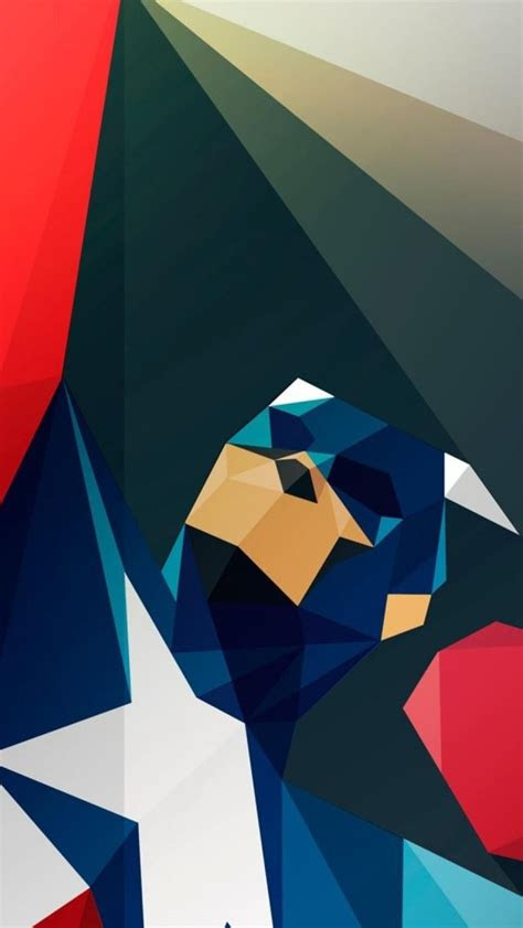 captain america art iphone  wallpaper
