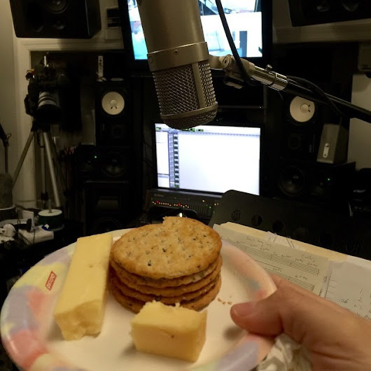 SoundworksRecNY — Some eat whatever they when they #record  #voice....
