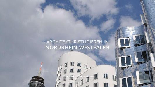 Architekturstudium google for Architektur studieren