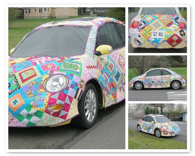 Quite possibly the coolest quilting project EVER