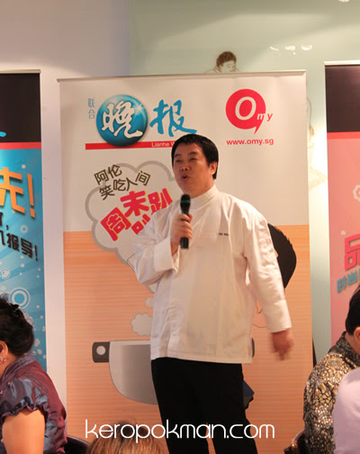 Chef Ma Wei welcoming us.