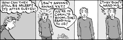 Home Spun comic strip #557