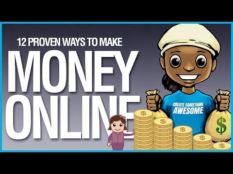 Make Money Online: 12 Ways to Make Money Online From Home