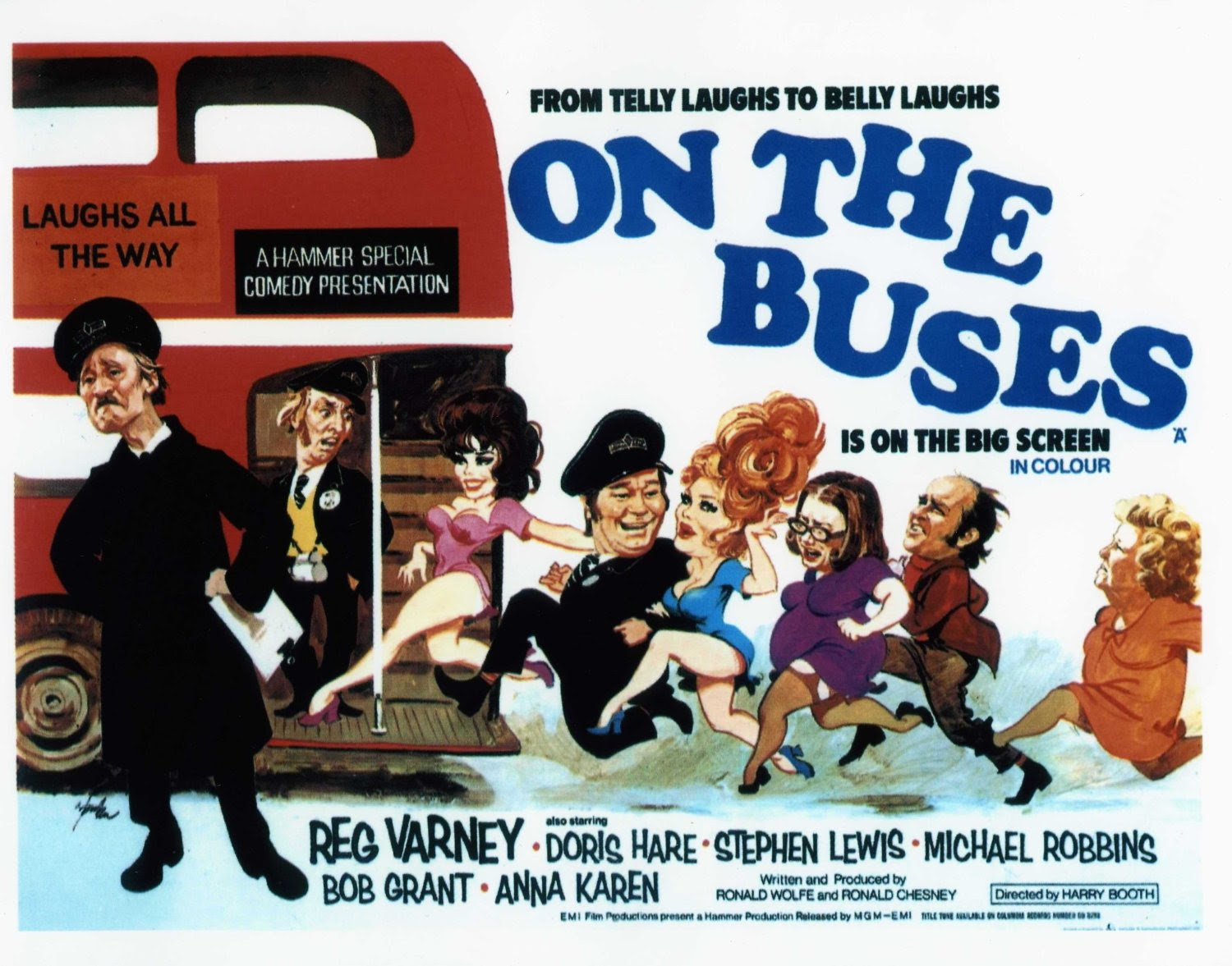 On the Buses Movie Poster