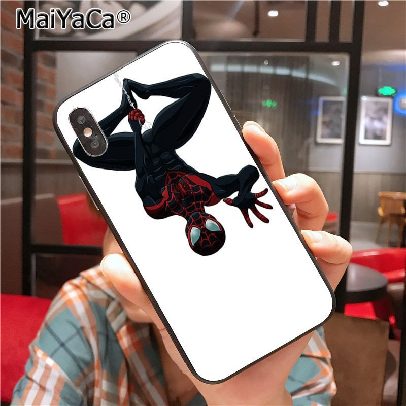 Maiyaca Spider Man Into The Spider Verse Adorable Drawing Phone Case F