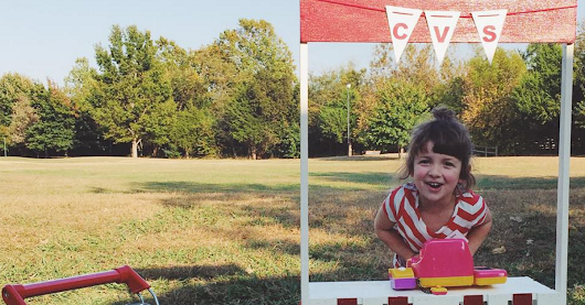 4-year-old obsessed with CVS had an amazing birthday party
