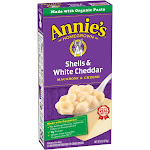 Annie's Shells & White Cheddar Macaroni & Cheese - 6oz