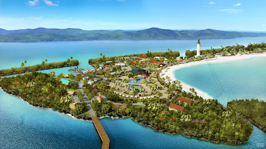 New resort-style port of call -- Harvest Caye -- revealed by Norwegian Cruise Line