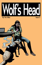 Wolf's Head Issue 3 cover