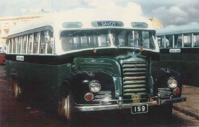 1951 Fordson Thames ET 7 36 seat Casha body