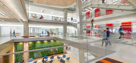The changing tides of workplace design in 2018 - Greener on the Inside