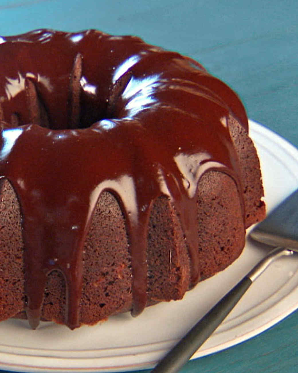 Dolly's Chocolate Bundt Cake Recipe & Video | Martha Stewart