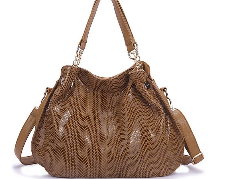 a6647328bf7 Buy Genuine Leather Handbags Women s Snake Famous Brands with Rivet Fashion  purse high quality women messenger bags tote bag Cheap Online - buyjmm