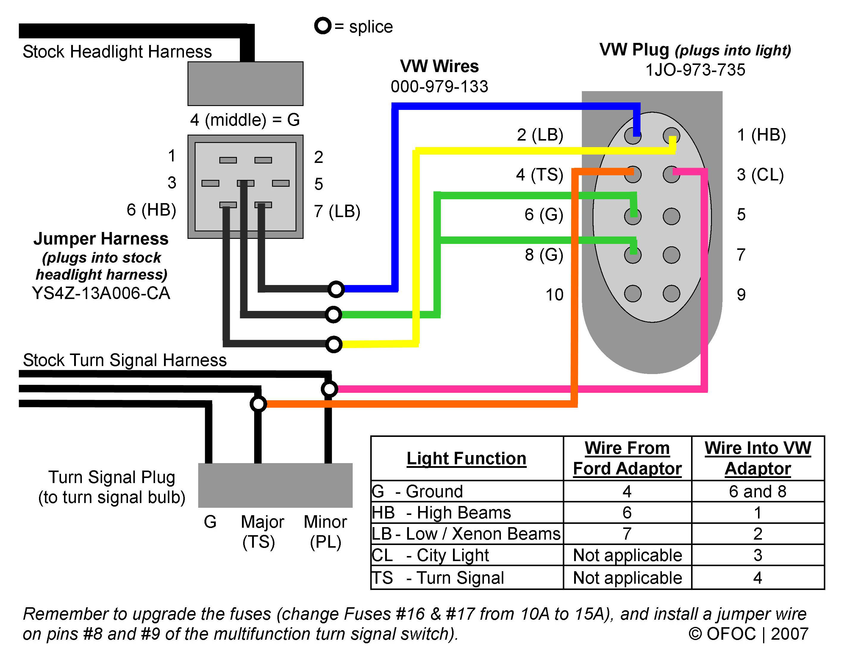 Ford Focu Headlight Wiring Harnes - Wiring Diagram | Ford Headlight Wire Harness Color Code |  | cars-trucks24.blogspot.com