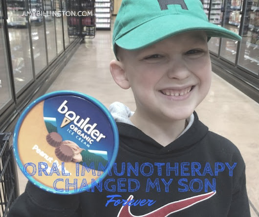 Oral Immunotherapy Changed My Son Forever