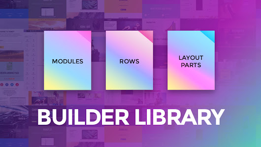Framework Update: New Builder Library + Layout Part Live Edit!