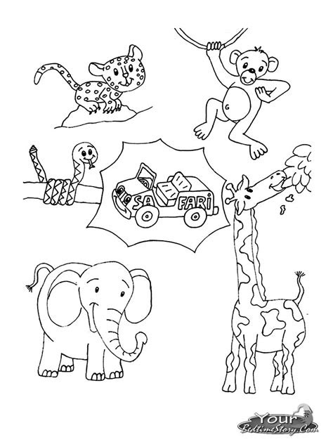 african animal coloring pages african grassland