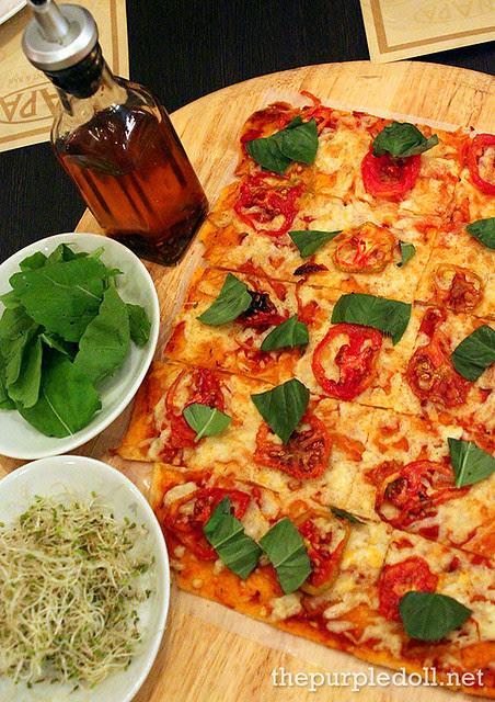 Vegetarian Panizza