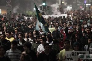 FOTOS: multidão toma ruas de SP (Caio Kenji / G1)