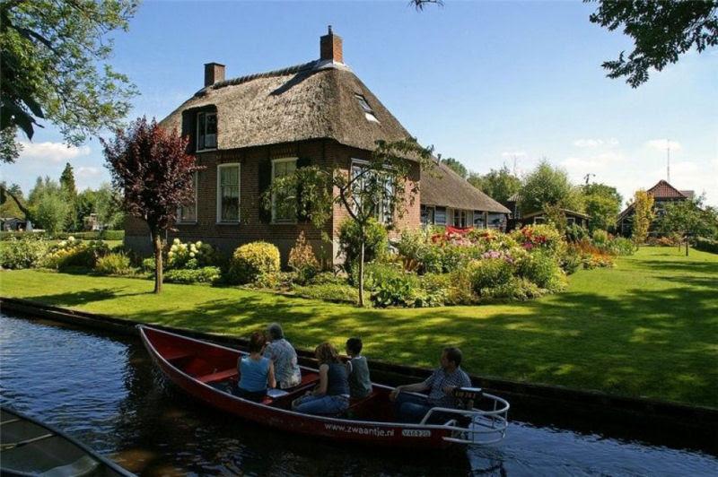 Giethoorn, a Veneza rural da Holanda 30