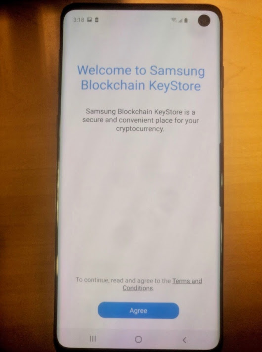 Latest Galaxy S10 Leak Shows Blockchain Wallet and Galaxy S10+ Battery