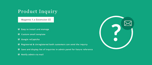 Product Inquiry – Extension for Magento®