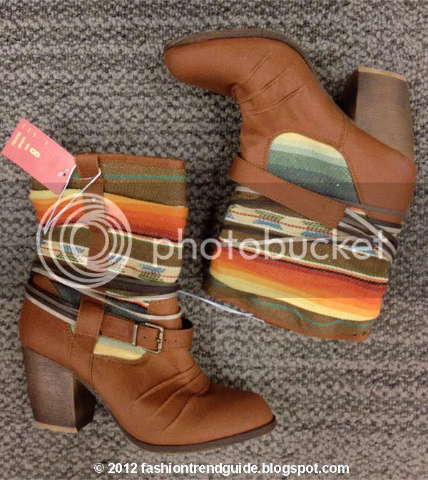 Mossimo printed Kalea boots