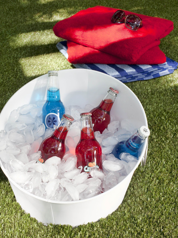 Fourth Of July Family Friendly Red White Blue Drink Ideas Mom